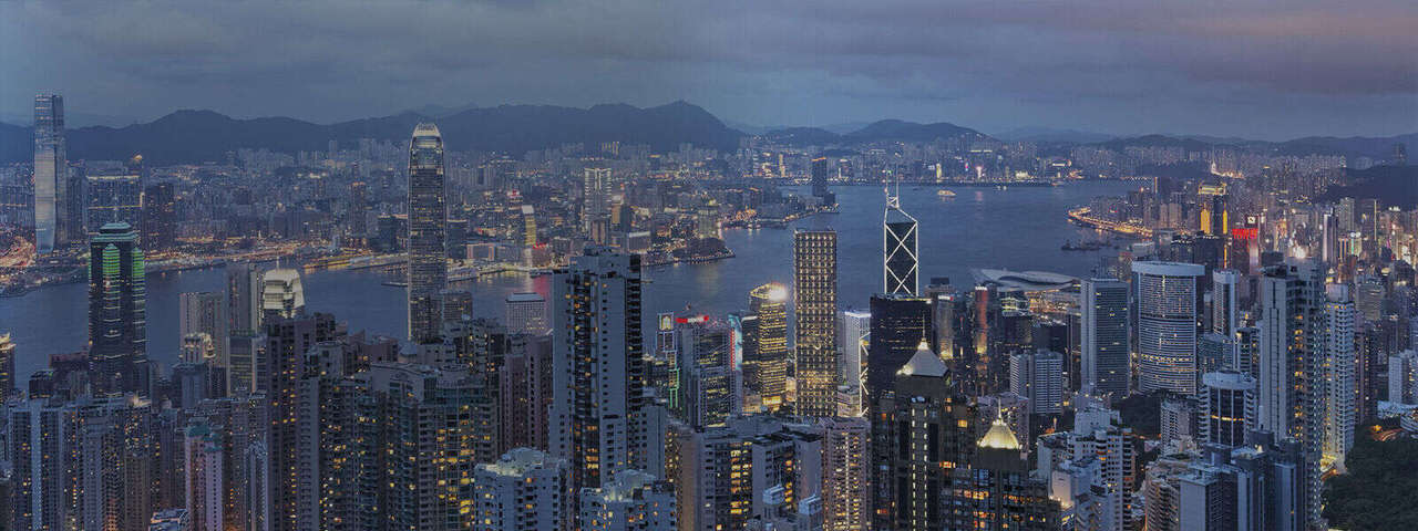 The establishment of operations in Hong Kong