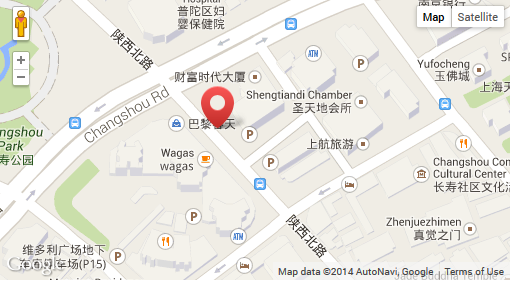 Shanghai office location.