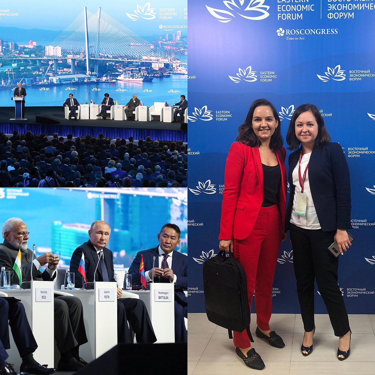 Charltons attended the Eastern Economic Forum 2019