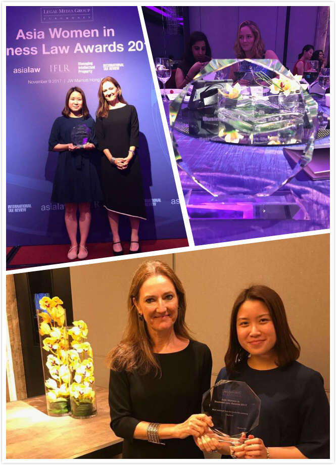 Charltons awarded 'Best national firm for work life-balance' at Euromoney's Asia Women in Business Law awards 2017