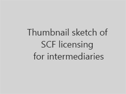 Thumbnail sketch of SFC licensing for intermediaries