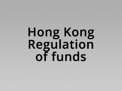 Hong Kong Regulation of Funds